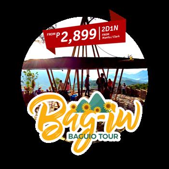 2D1N Baguio Tour