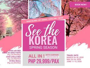 KOREA ON SPRING SEASON